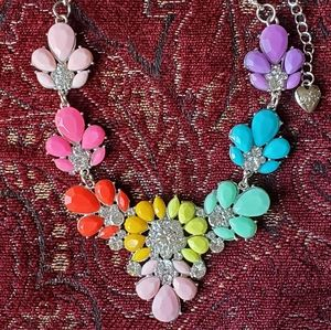 Betsey Johnson colorful necklace